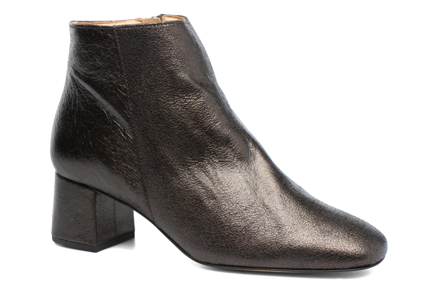 Ankle boots Georgia Rose Craquel Black detailed view/ Pair view