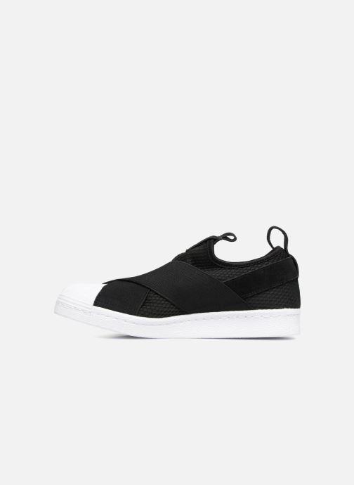 adidas originals Superstar Slip On W Trainers in Black at