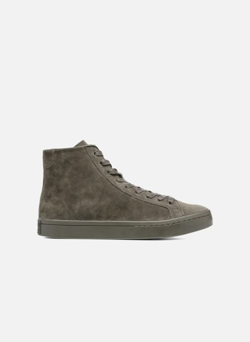 Baskets adidas originals Courtvantage Mid Gris vue derrière