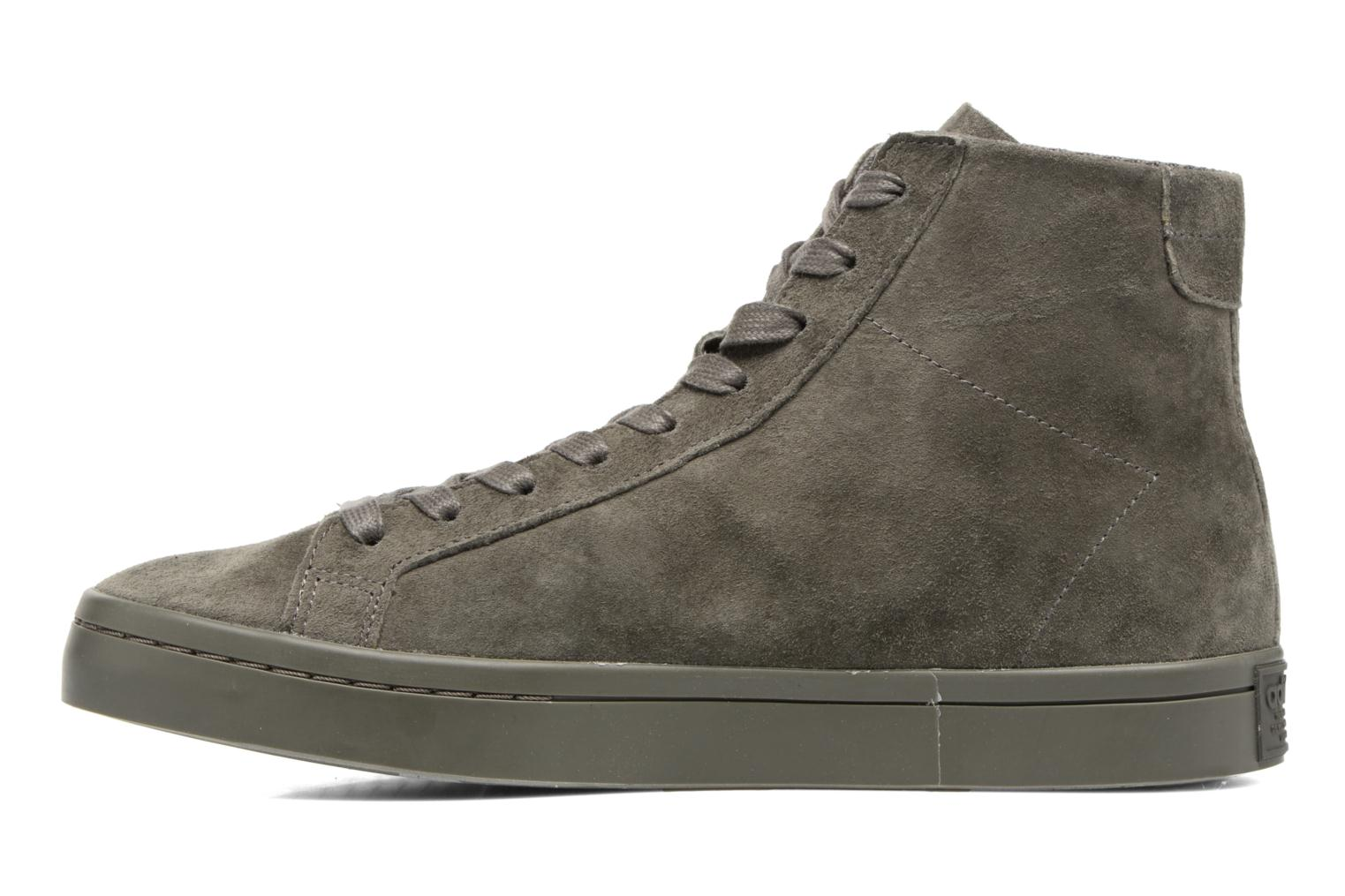 Sneakers Adidas Originals Courtvantage Mid Grigio immagine frontale