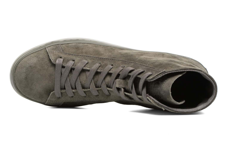 Sneakers Adidas Originals Courtvantage Mid Grigio immagine sinistra