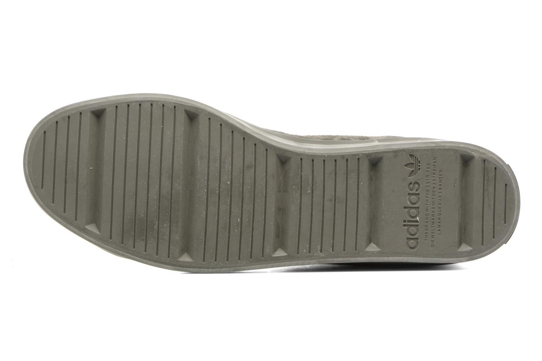 Sneakers Adidas Originals Courtvantage Mid Grigio immagine dall'alto