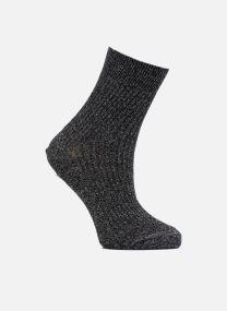 Chaussettes lurex bord coté Femme Coton / Lurex