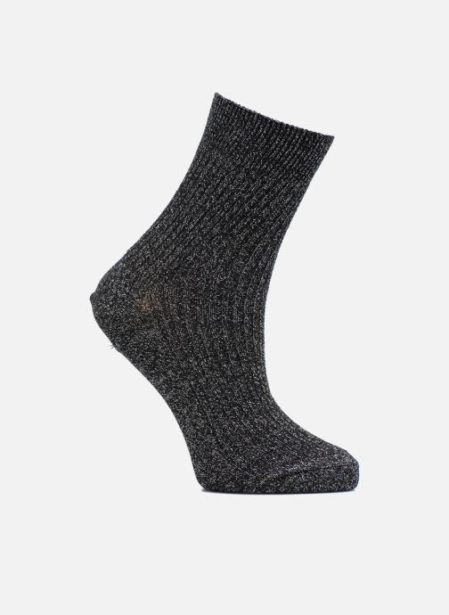 Sokken en panty's Sarenza Wear Chaussettes lurex bord coté Femme Coton / Lurex Zwart detail