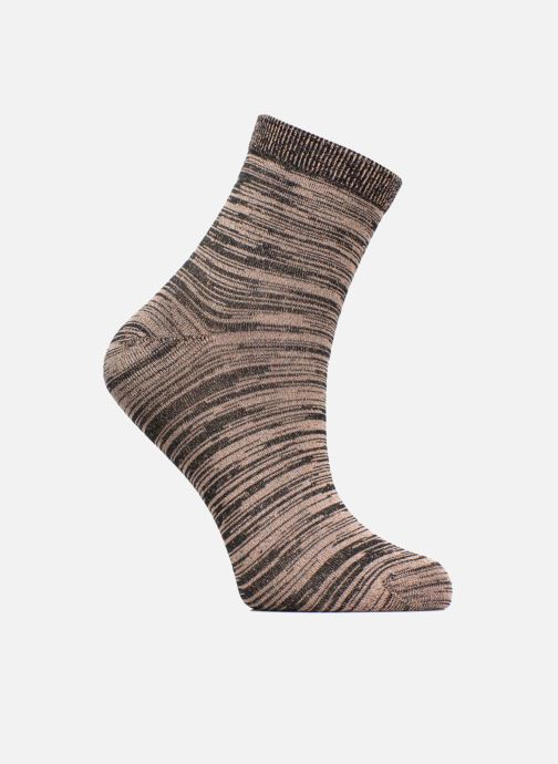 Socks & tights Sarenza Wear Chaussettes lurex Femme Bronze and Gold detailed view/ Pair view