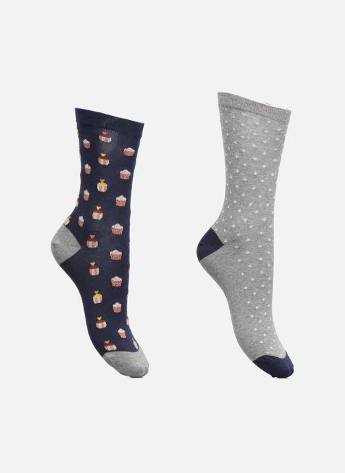 Socken & Strumpfhosen Sarenza Wear Chaussettes Femme Pack de 2 Cupcake Coton mehrfarbig detaillierte ansicht/modell