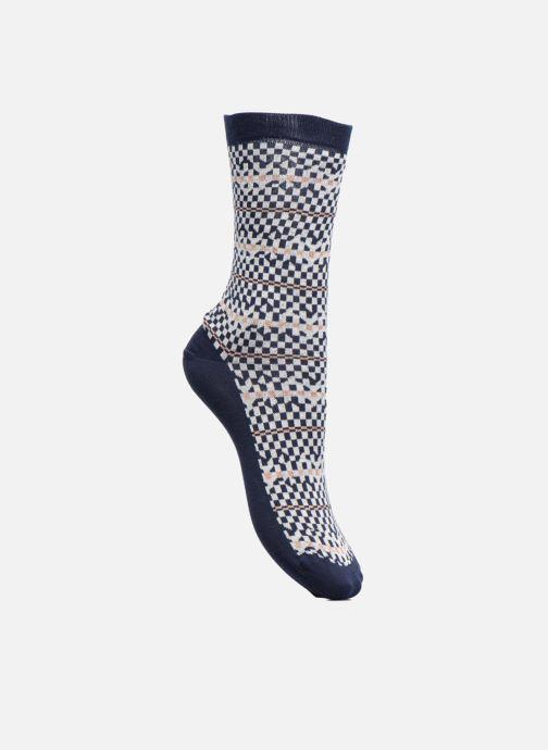 Sokken en panty's Sarenza Wear Chaussettes Femme Graphique Lurex Blauw detail