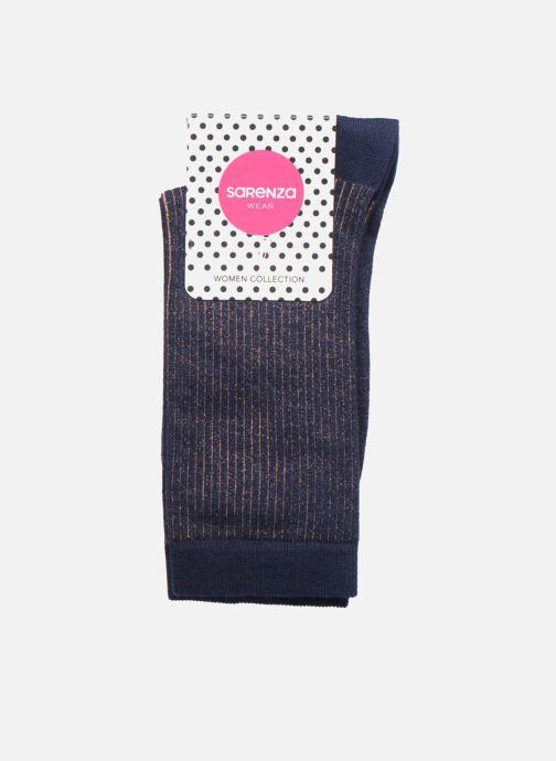 Socks & tights Sarenza Wear Chaussettes Femme Lurex White back view