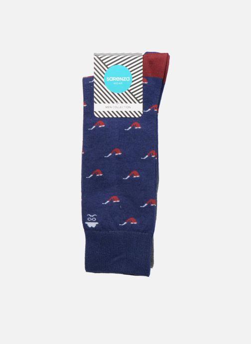 Chaussettes et collants Sarenza Wear Chaussettes Homme Pack de 2 Tasses & Pipes Coton Multicolore vue derrière