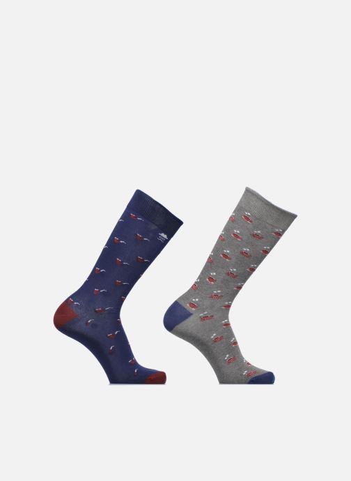 Chaussettes et collants Sarenza Wear Chaussettes Homme Pack de 2 Tasses & Pipes Coton Multicolore vue détail/paire