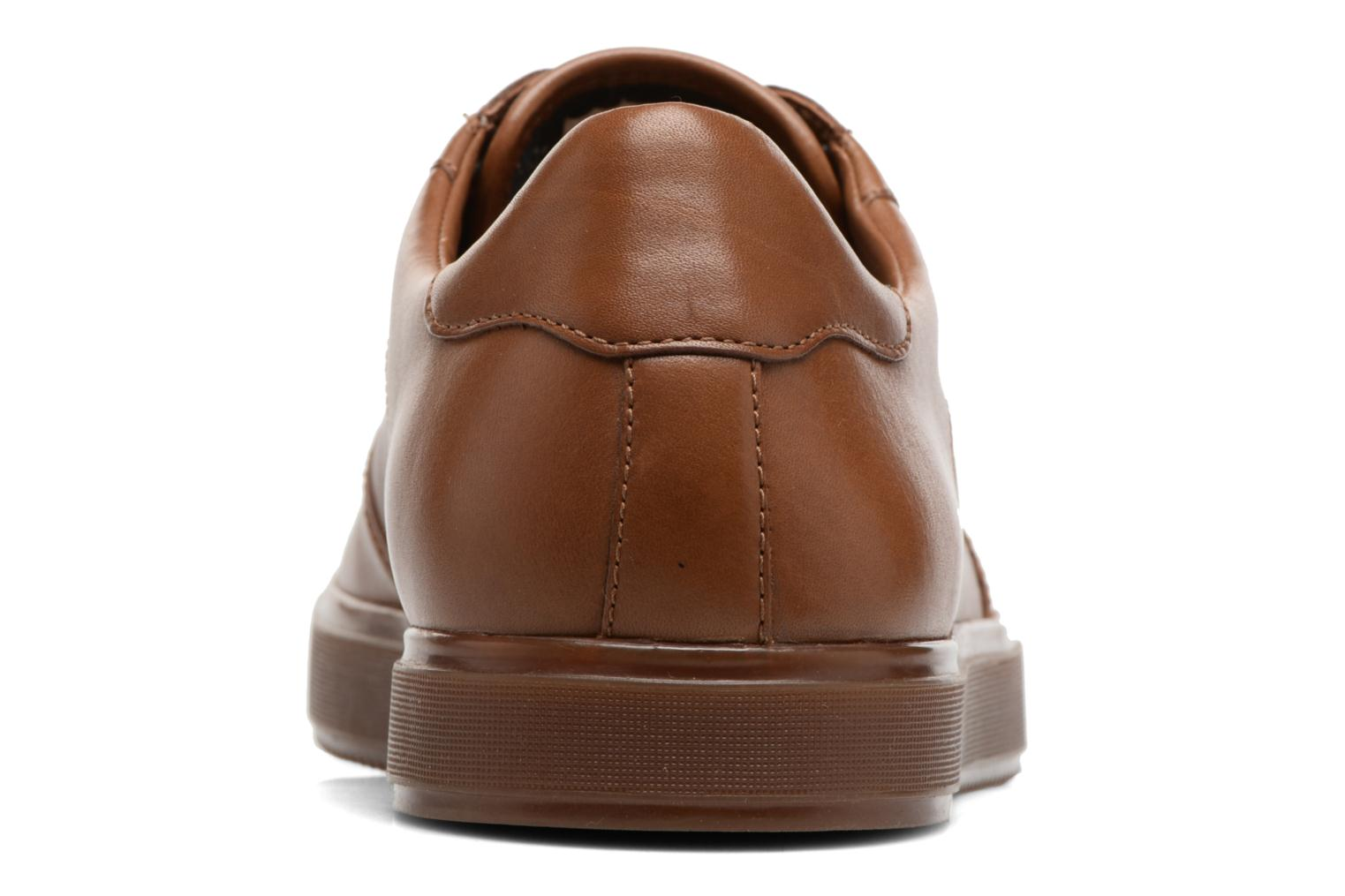 Baskets Clarks Calderon Speed Marron vue droite