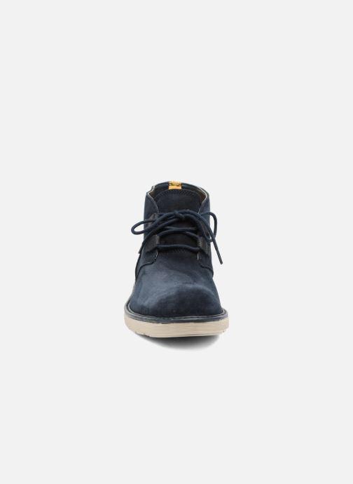 Bottines et boots Clarks Fayeman Hi Bleu vue portées chaussures