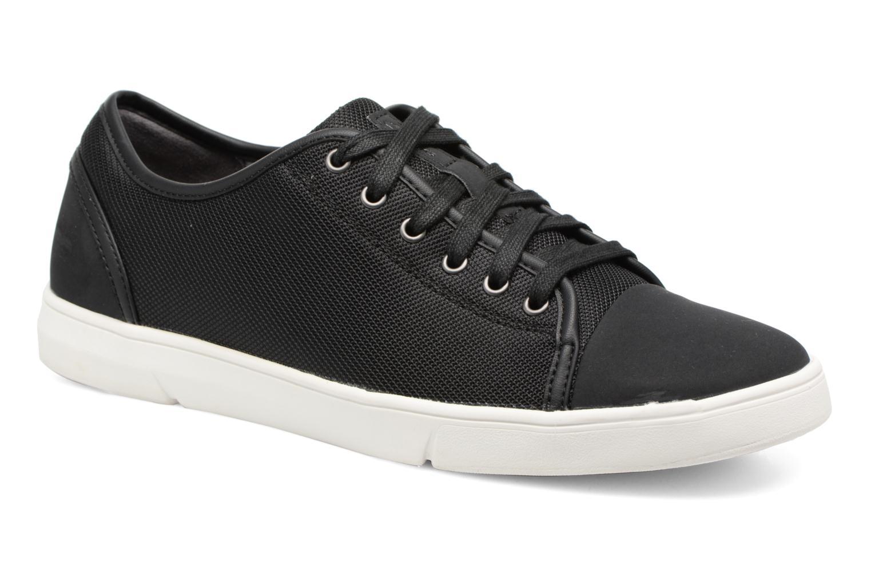 Sneakers Clarks Lander Cap Zwart detail