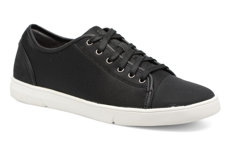 Clarks Lander Cap (Noir) - Baskets en Más cómodo Chaussures casual sauvages