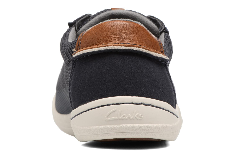 Sneakers Clarks Mapped Edge Blauw rechts