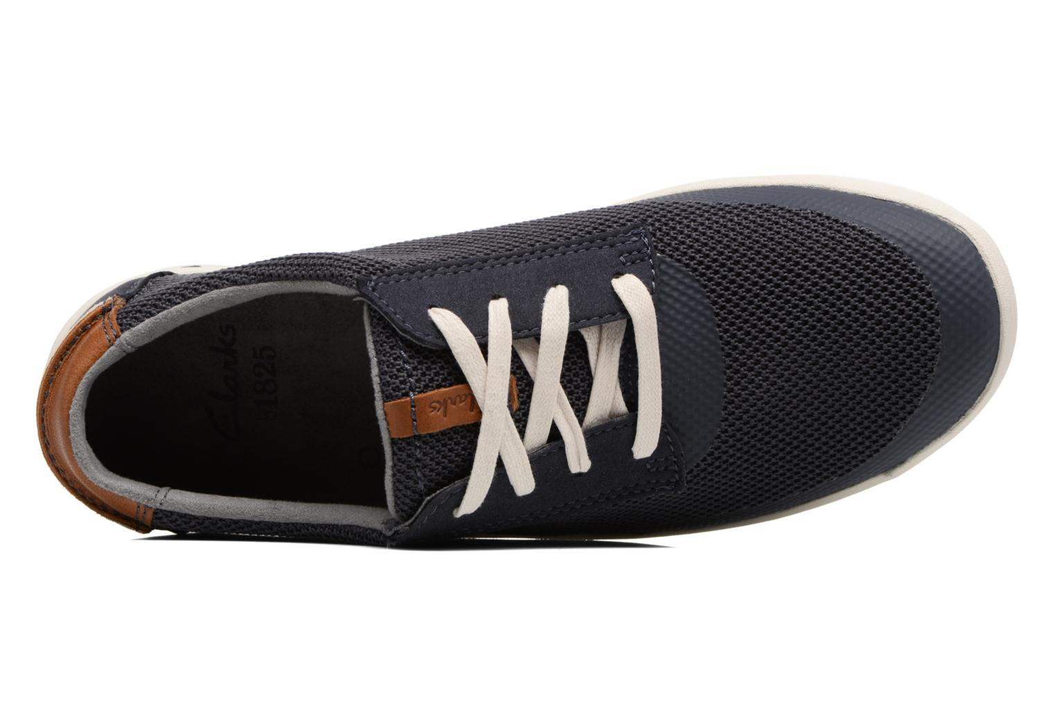 Sneakers Clarks Mapped Edge Blauw links