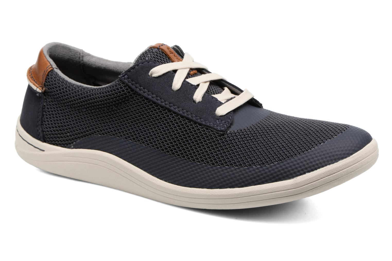 Sneakers Clarks Mapped Edge Blauw detail