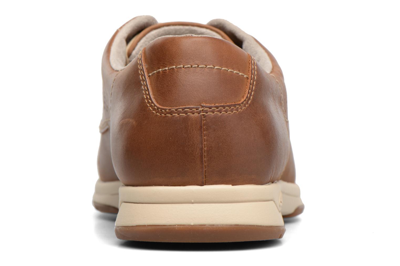 Chaussures à lacets Clarks Stafford Plan Marron vue droite
