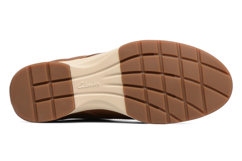 Chaussures à lacets Clarks Stafford Plan Marron vue haut