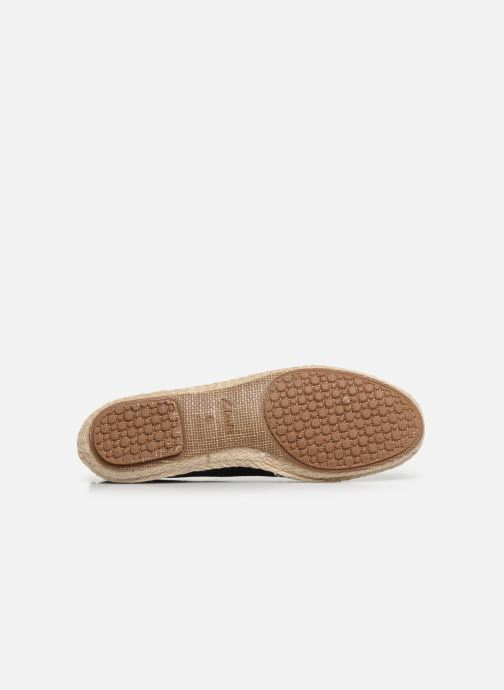 Espadrilles Clarks Clovelly Sun Black view from above