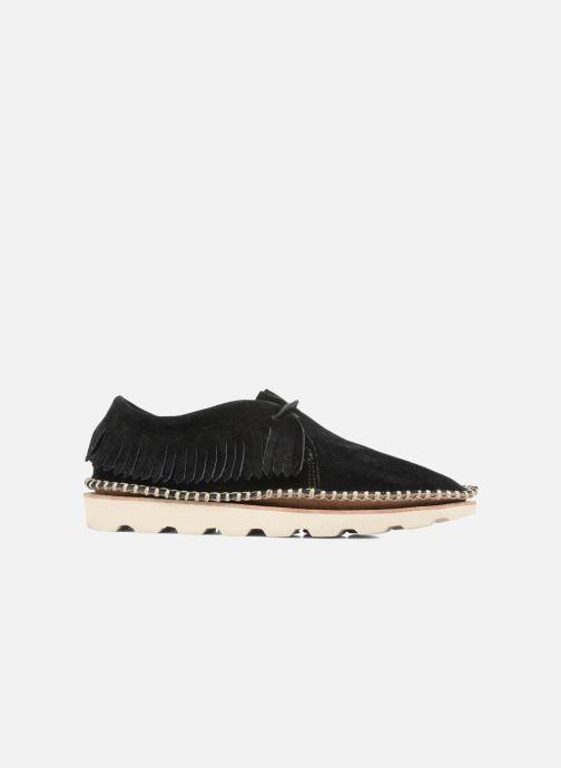 Zapatos con cordones Clarks Damara Thrill Negro vistra trasera
