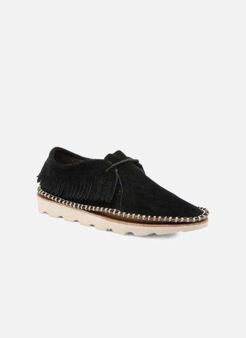 Chaussures à lacets Clarks Damara Thrill Noir vue détail/paire