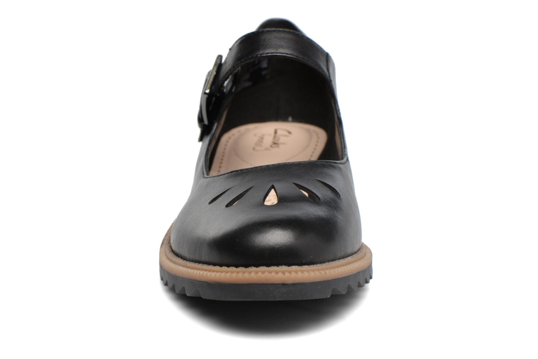 Ballerines Clarks Griffin Marni Noir vue portées chaussures