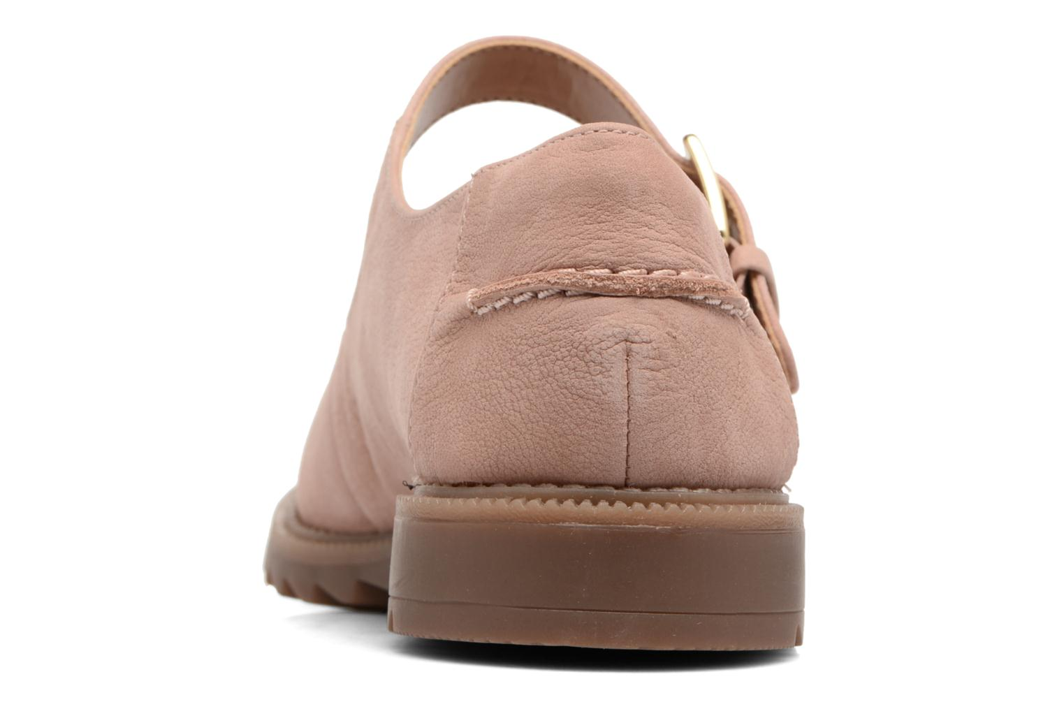 Ballet pumps Clarks Griffin Marni Pink view from the right