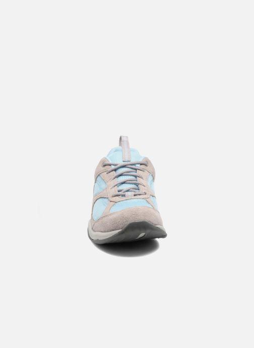 Baskets Clarks Inwalk Air Bleu vue portées chaussures