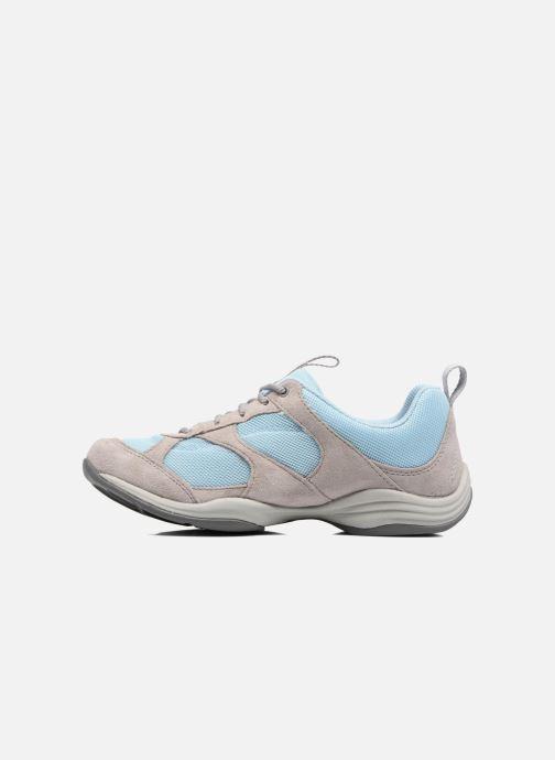 Baskets Clarks Inwalk Air Bleu vue face