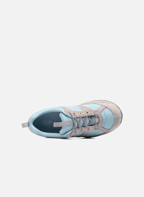 Baskets Clarks Inwalk Air Bleu vue gauche