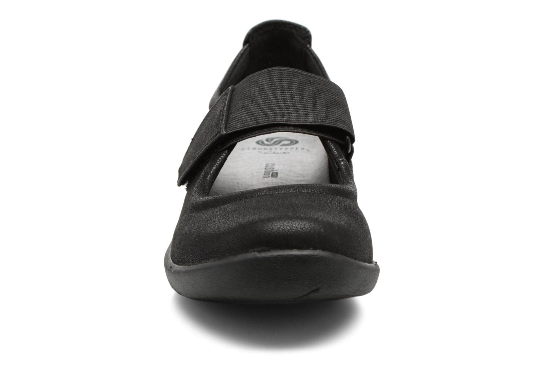 Ballerines Clarks Sillian Cala Noir vue portées chaussures