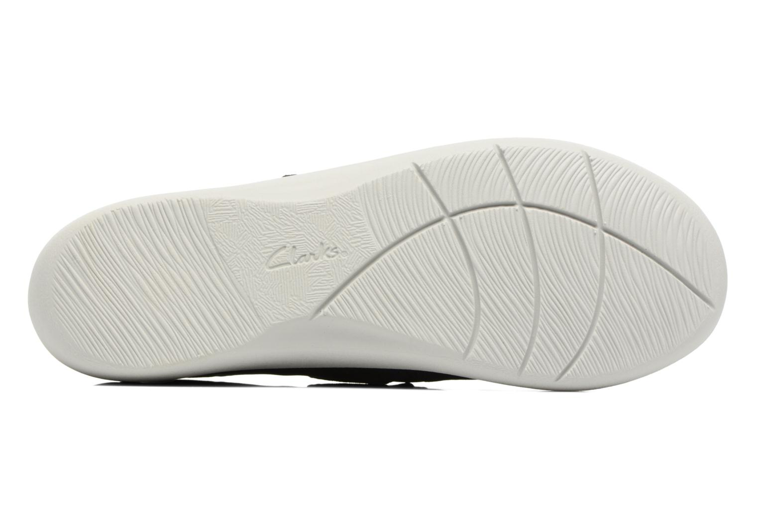 Ballet pumps Clarks Sillian Cala Blue view from above