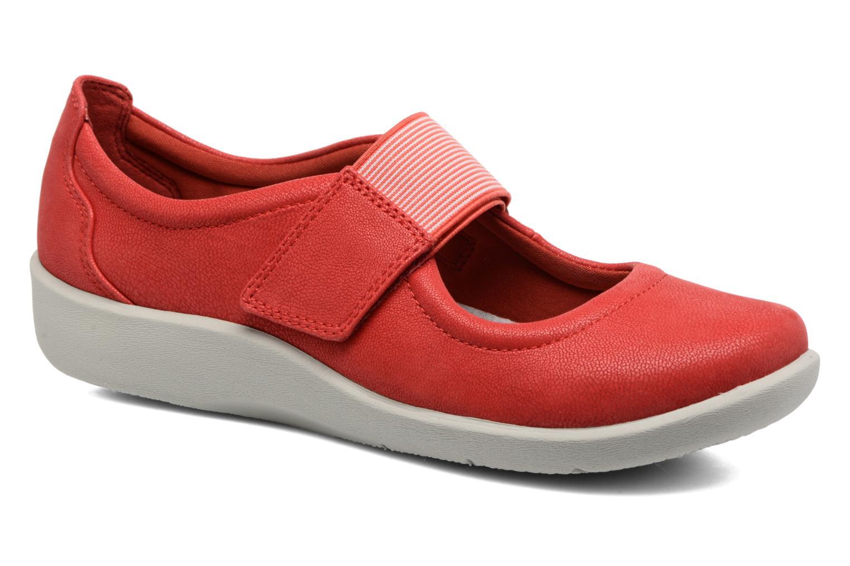 Clarks Sillian Cala (Rouge) - Ballerines en Más cómodo Dernières chaussures discount pour hommes et femmes