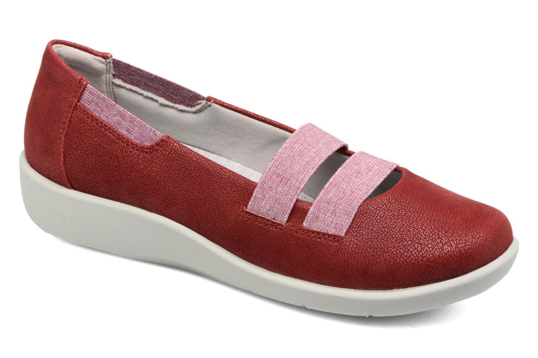Zapatos casuales salvajes (Rojo)  Clarks Sillian Rest (Rojo) salvajes - Bailarinas en Más cómodo 071c7b
