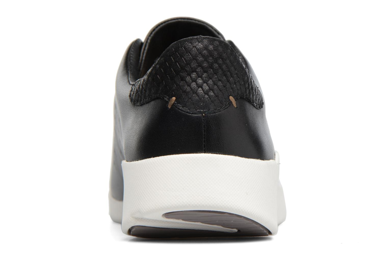 Sneakers Clarks Tri Abby Zwart rechts
