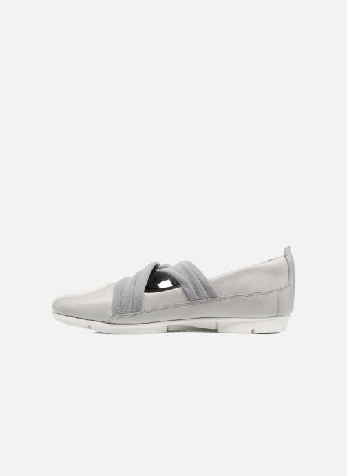 Ballerines Clarks Tri Accord Gris vue face