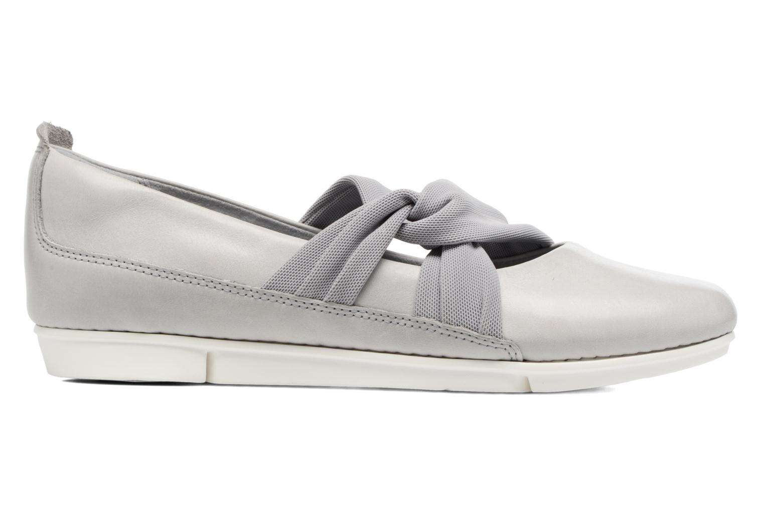 Ballet pumps Clarks Tri Accord Grey back view