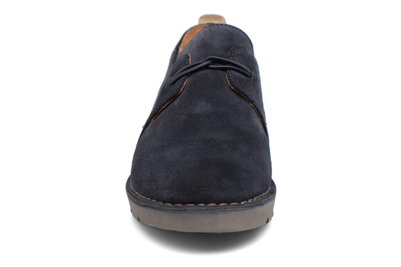 Chaussures à lacets Clarks Un Ava Bleu vue portées chaussures