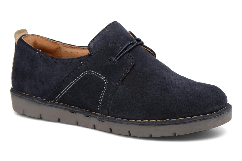 Chaussures à lacets Clarks Un Ava Bleu vue détail/paire