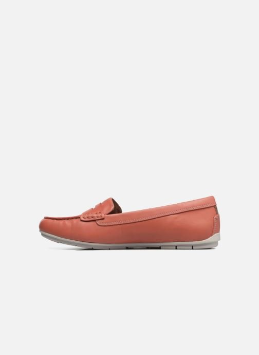Mocassins Clarks Un Terra Orange vue face