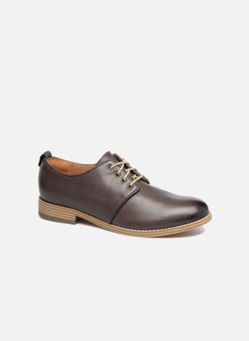 Snøresko Clarks Zyris Toledo Grå detaljeret billede af skoene