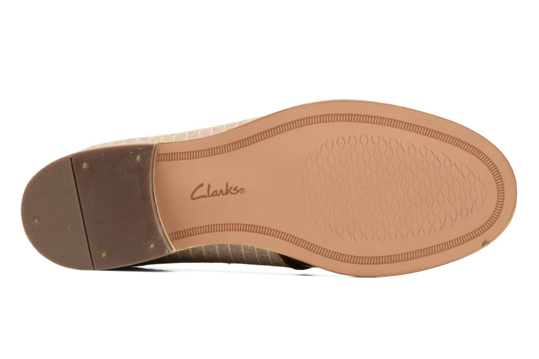 Scarpe con lacci Clarks Zyris Toledo Marrone immagine dall'alto
