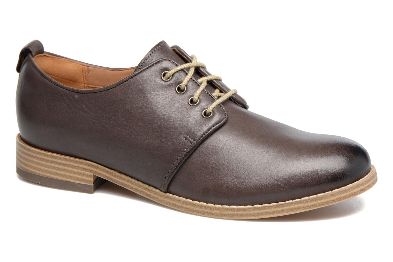 Zapatos con cordones Clarks Zyris Toledo Gris vista de detalle / par