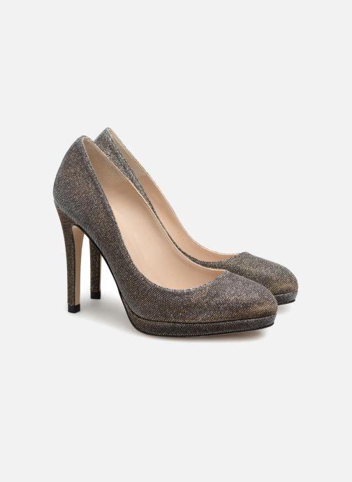 Zapatos de tacón L.K. Bennett New Sledge Oro y bronce vista 3/4