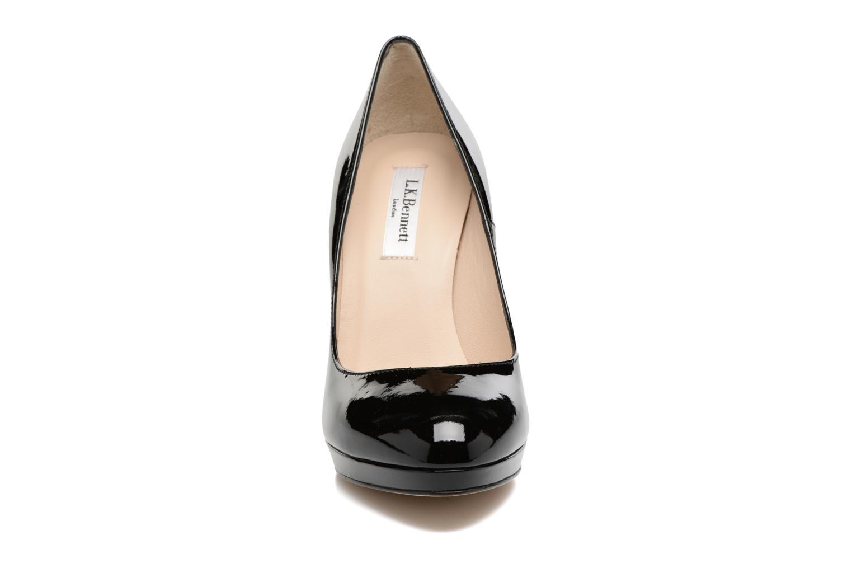 Escarpins L.K. Bennett New Sledge Noir vue portées chaussures