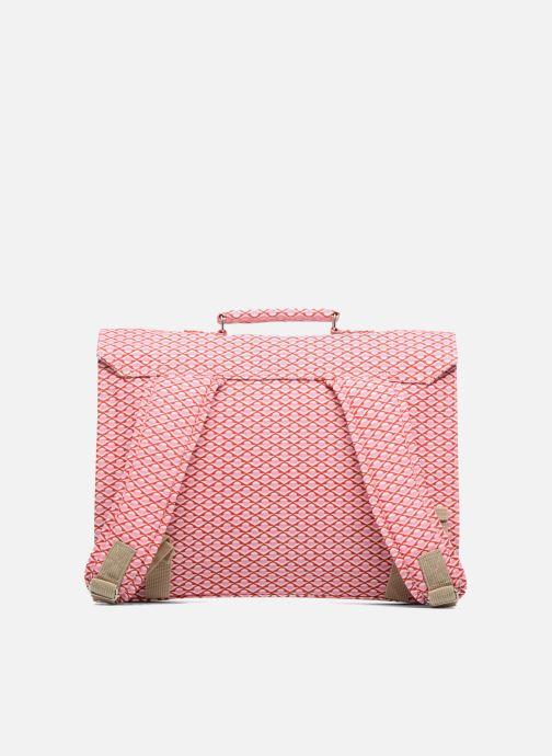 Schooltassen Bakker Made With Love Chine 37cm Roze voorkant