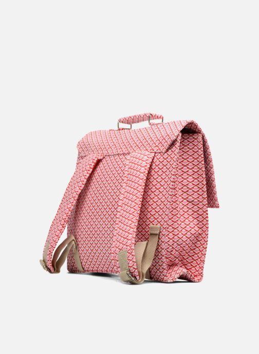 Schooltassen Bakker Made With Love Chine 37cm Roze rechts