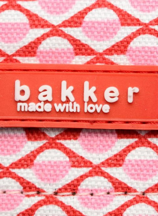 Schooltassen Bakker Made With Love Chine 37cm Roze links