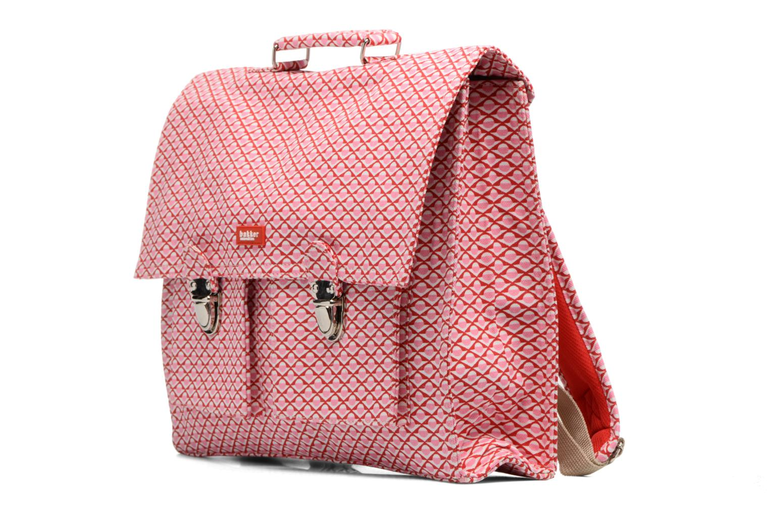 Scolaire Bakker Made With Love Chine 37cm Rose vue portées chaussures